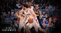 Clippers Overcome Late Scare, Beat Nuggets