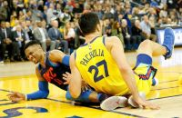 Kurtenbach: Why I don't think Zaza Pachulia intentionally fell on Russell Westbrook
