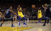 Kevin Durant powers Warriors past Thunder